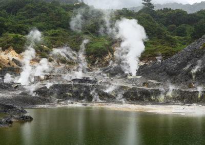 Geotermální oblast Xinbeitou na severu Taipei