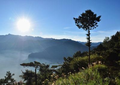 Hory Alishanu na ostrově Taiwan