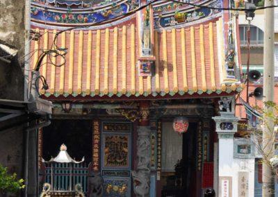Čínský chrám ve městě Tainan