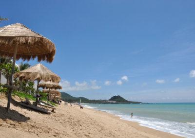 Tropický ráj a pláže v národním parku Kenting na Taiwanu
