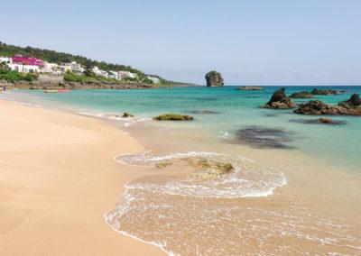 Nejlepší pláž v národním parku Kenting na Taiwanu