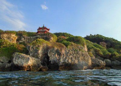 Korálové útesy na ostrově Xiao Liuqiu