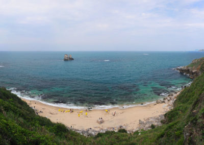 Pláž Jinshan se seakayaky