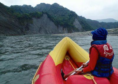 Rafting na Taiwanu je zábava