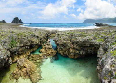 Tajná laguna a skvělé koupání na Taiwanu