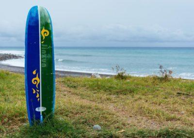 Surf na východě Taiwanu