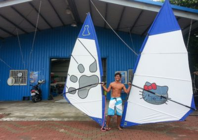 Hello Kitty Windsurf, pouze na Taiwanu