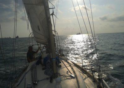 Plavba na plachetnici okolo jižního Taiwanu
