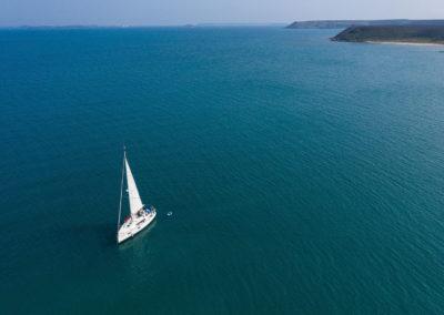 Plavba na jachtě okolo souostroví Penghu