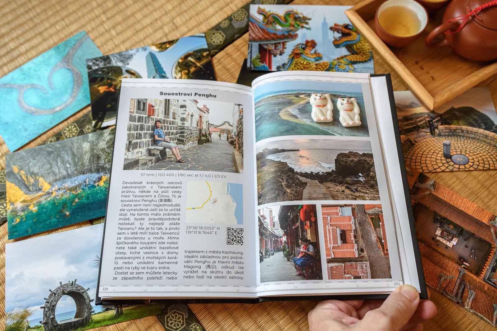 Knižní průvodce Nejlepší fotografie z Tchaj-wanu a kde je najít