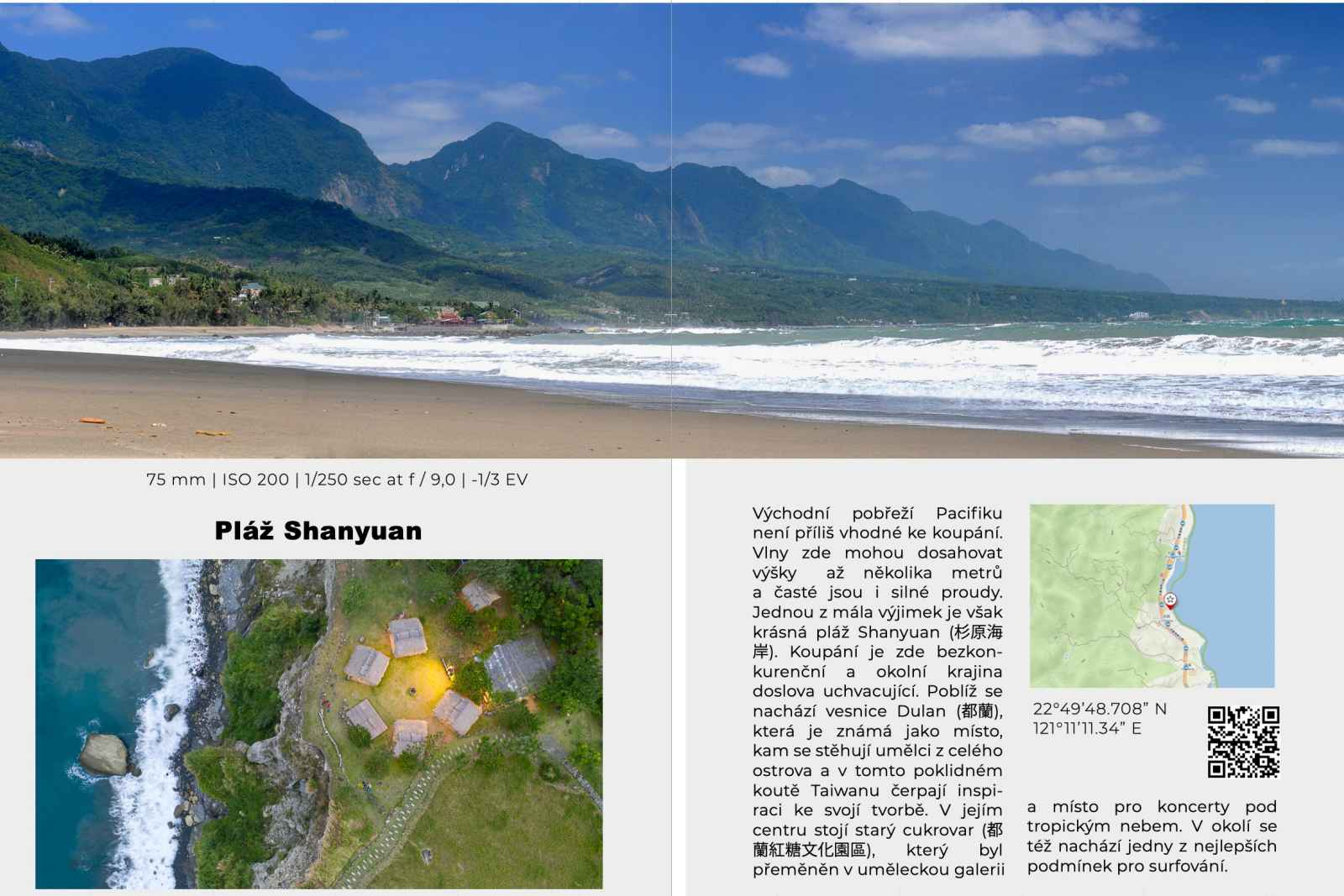 ebook průvodce Nejlepší fotografie z Tchaj-wanu a kde je najít